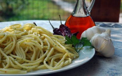 Linguine with Garlic and Oil