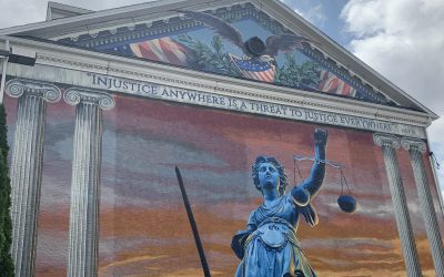 Lady Justice (As Featured in Suburban Life Magazine)